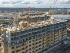 Ход строительства дома Литер 22 в ЖК Светлоград - фото 2, Апрель 2021