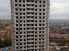 Ход строительства дома №3 в ЖК Красная поляна - фото 43, Октябрь 2017