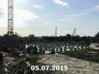 Ход строительства дома Литер 6 в ЖК Южный Берег - фото 25, Июль 2019