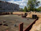 Ход строительства дома № 1 в ЖК Город чемпионов - фото 106, Август 2014