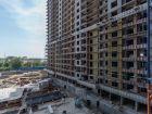 Ход строительства дома Литер 1 в ЖК Первый - фото 95, Август 2018