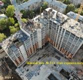 Ход строительства дома № 3 в ЖК Панова Парк -