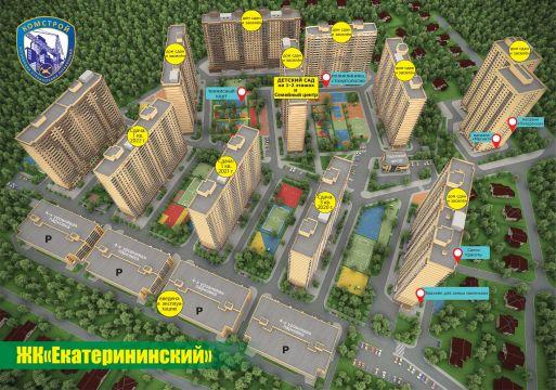ЖК Екатерининский - фото 1