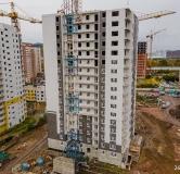 Ход строительства дома №1, строение 2 в ЖК КБС Берег -