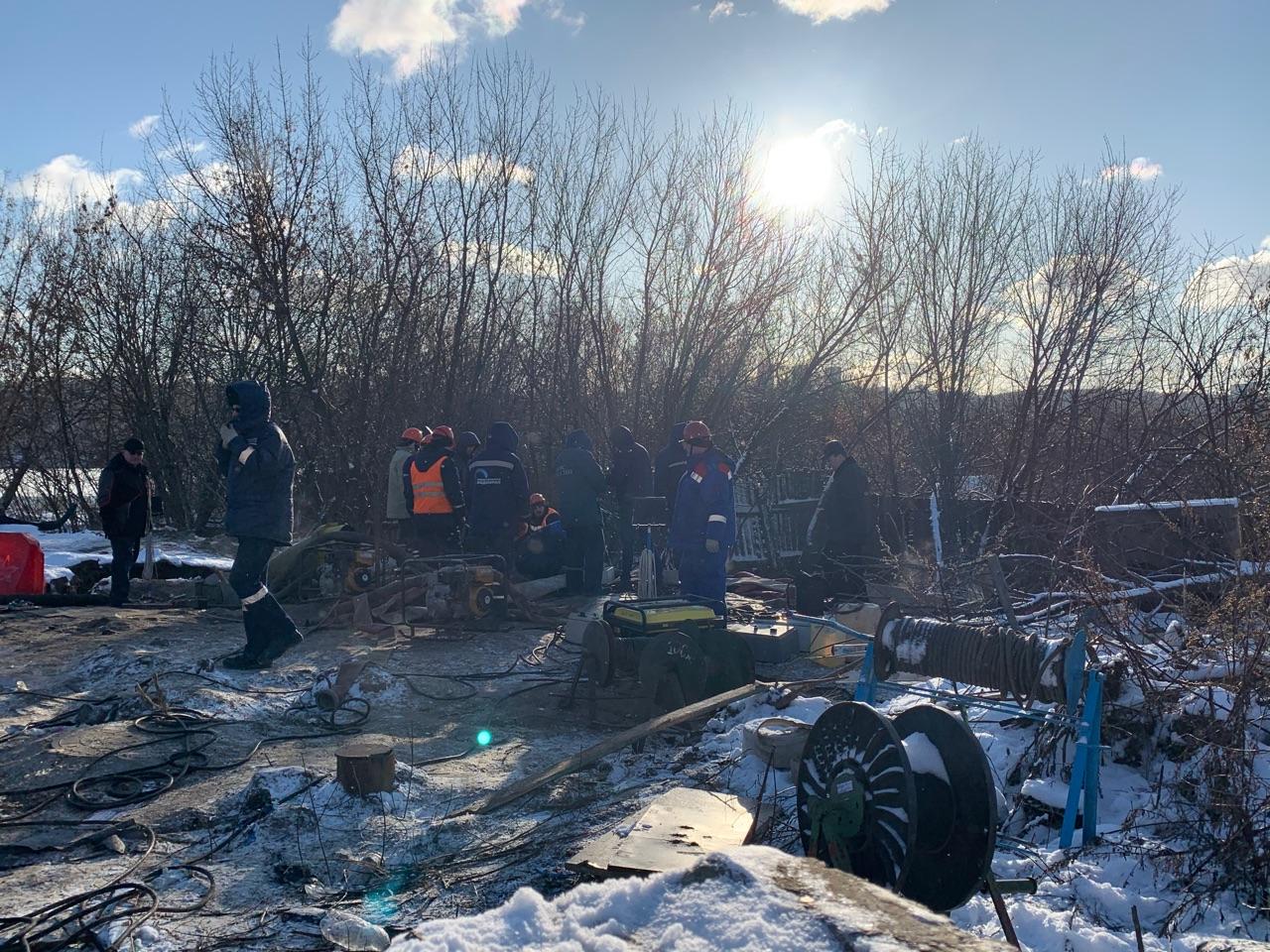 Трещина на чугунном байпасе стала причиной аварии на коллекторе в Нижнем Новгороде