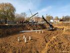 Ход строительства дома № 1 в ЖК Книги - фото 62, Октябрь 2020