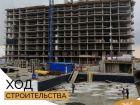 Ход строительства дома Литер 1 в ЖК Династия - фото 44, Октябрь 2018