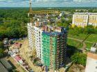 Дом на Чаадаева - ход строительства, фото 34, Июль 2019