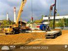 Ход строительства дома Литер 1 в ЖК Рубин - фото 48, Август 2019