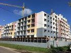 Ход строительства дома № 1 в ЖК Удачный 2 - фото 104, Август 2019
