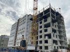 Ход строительства дома № 7 в ЖК Заречье - фото 1, Октябрь 2020