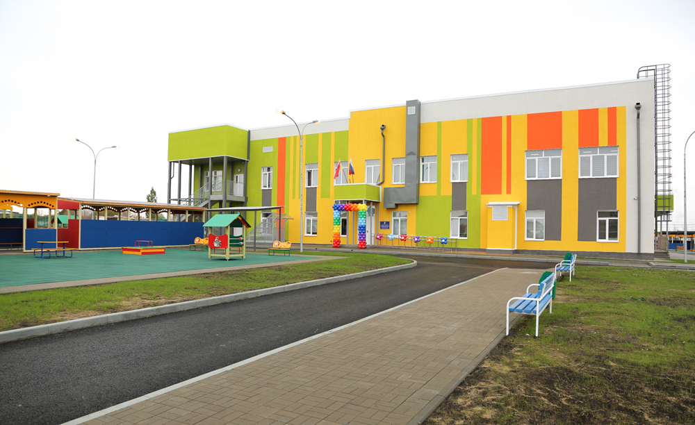 Детский сад для 150 ребят открылся для в мкр. Подклетное