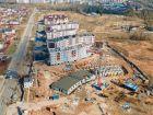 Ход строительства дома № 5 в ЖК Ватсон - фото 27, Май 2021