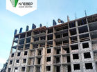 Ход строительства дома № 1 в ЖК Клевер - фото 89, Декабрь 2018