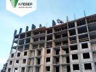 Ход строительства дома № 2 в ЖК Клевер - фото 91, Декабрь 2018
