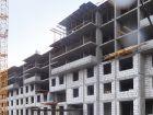 Ход строительства дома № 1 корпус 2 в ЖК Жюль Верн - фото 60, Апрель 2017