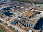 Ход строительства дома Литер 4 в ЖК Самолет 2 - фото 26, Октябрь 2020