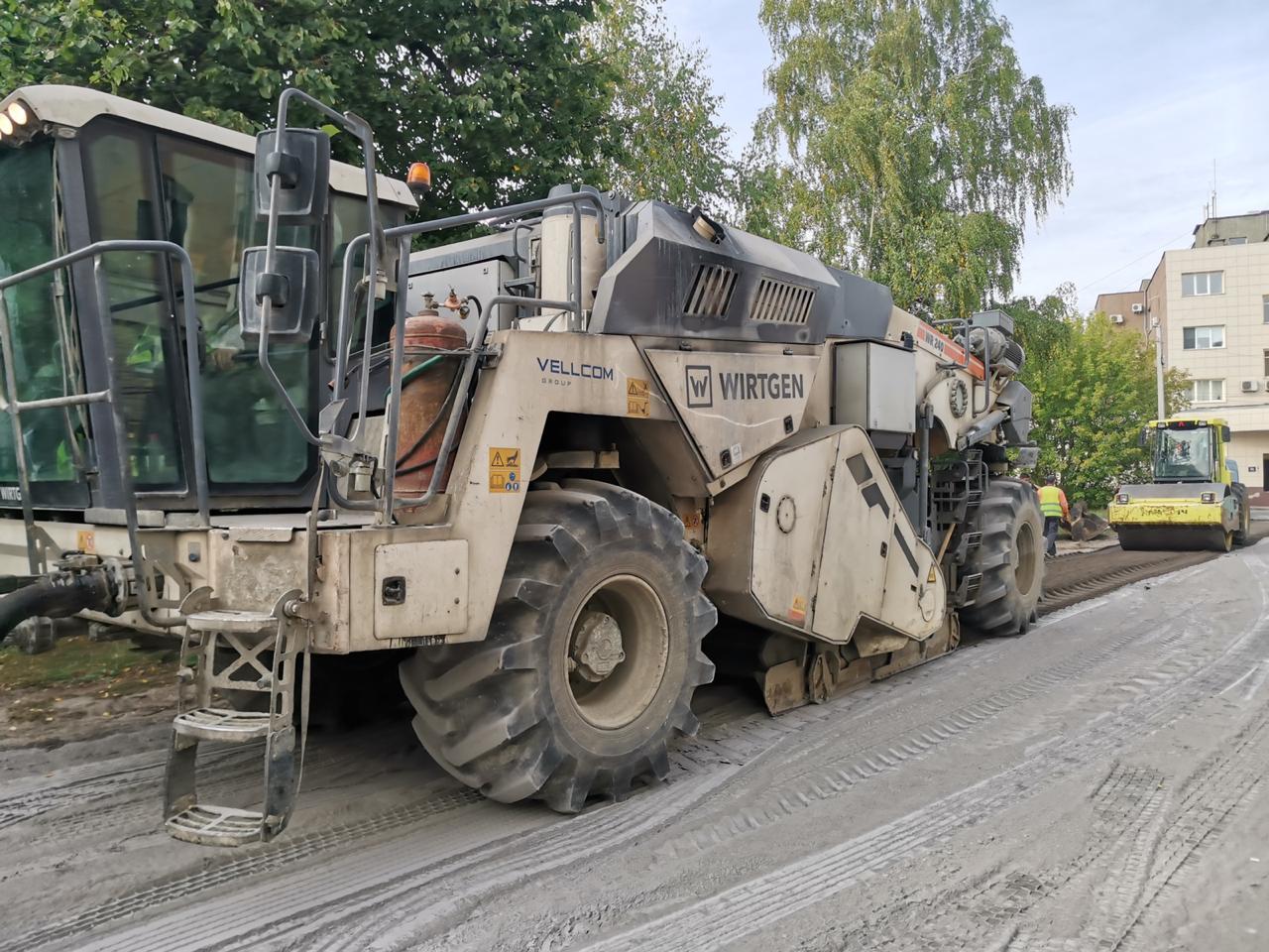 Инновационные технологии применяют при ремонте дороги в Выксе - фото 1