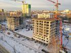 Ход строительства дома № 1 первый пусковой комплекс в ЖК Маяковский Парк - фото 51, Январь 2021